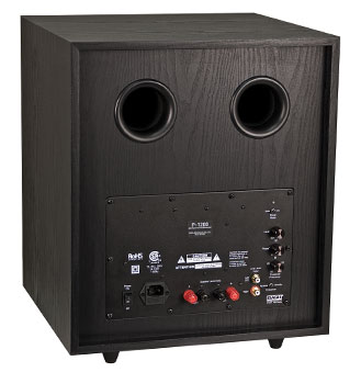 P-1200 Freestanding Powered Subwoofer Image - Back